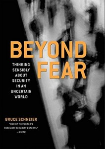 The best books on Trust and Modern Society - Beyond Fear by Bruce Schneier