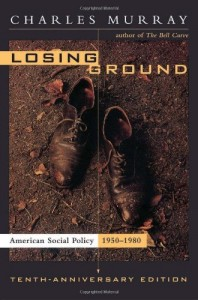 David Frum recommends five Pioneering Conservative Books - Losing Ground by Charles Murray