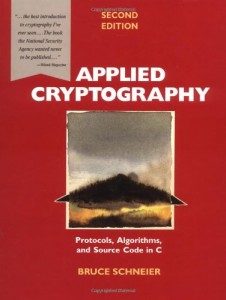 The best books on Trust and Modern Society - Applied Cryptography by Bruce Schneier