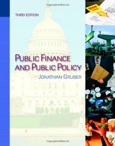The best books on Public Finance - Public Finance and Public Policy by Jonathan Gruber