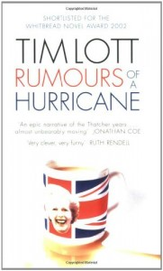 The best books on Brothers - Rumours of a Hurricane by Tim Lott