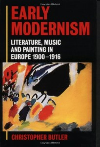 The best books on Modernism - Early Modernism by Christopher Butler