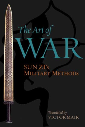 The best books on Military Strategy - The Art of War by Sun Zi (also written in English as Sun Tzu)
