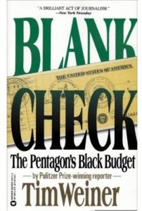The best books on The US Intelligence Services - Blank Check by Tim Weiner