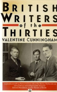 The best books on Modernism - British Writers of the Thirties by Valentine Cunningham