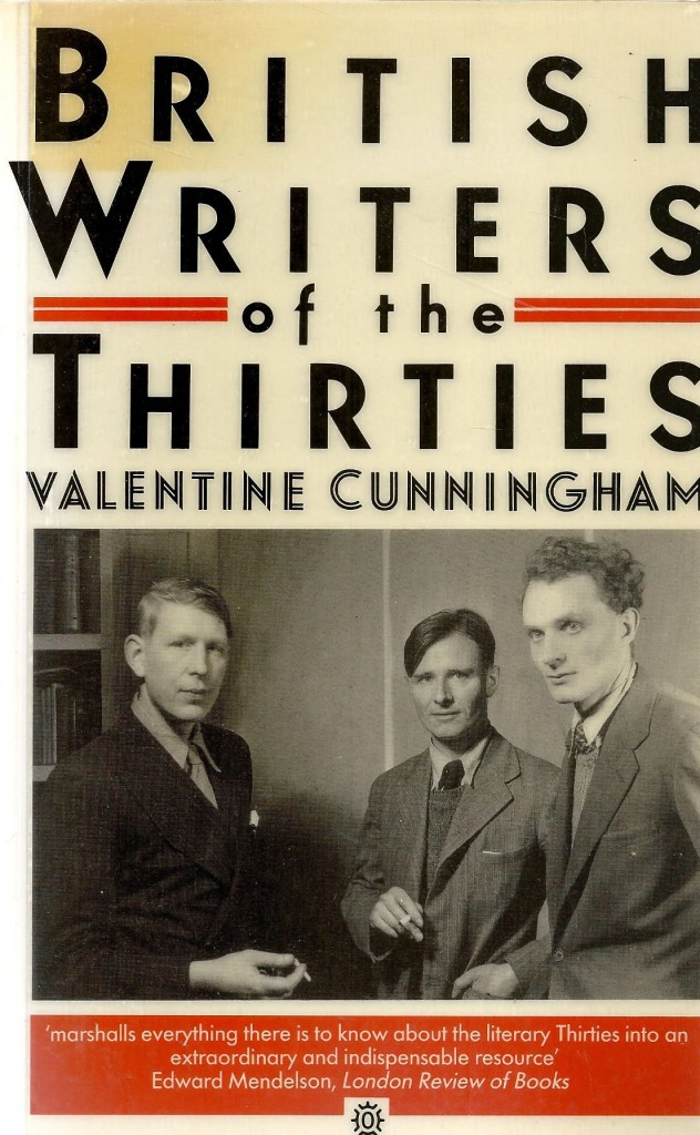 Alexandra Harris on Modernism - British Writers of the Thirties by Valentine Cunningham