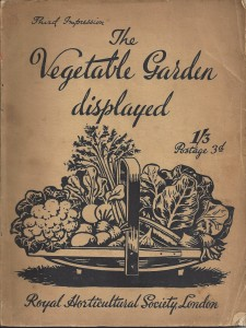 Monty Don recommends His Favourite Gardening Books - The Vegetable Garden Displayed by Royal Horticultural Society
