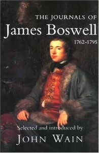 The Journals of James Boswell by James Boswell