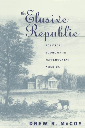 The best books on American Economic History - The Elusive Republic by Drew R McCoy