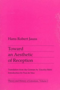 William St Clair on Reading the Romantics - Toward an Aesthetic of Reception by Hans Robert Jauss
