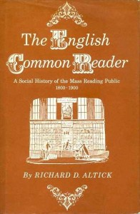 William St Clair on Reading the Romantics - The English Common Reader by Richard Altick