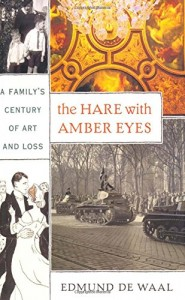 The best books on Inspiration for Writing and Art - The Hare with Amber Eyes by Edmund de Waal
