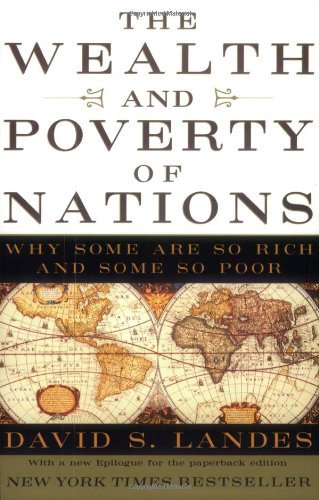 The best books on Understanding the Burmese Economy - The Wealth and Poverty of Nations by David S Landes