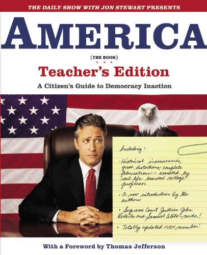 The best books on Political Satire - America (The Book) by Jon Stewart and the writers of the Daily Show