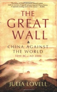 The best books on The Opium War - The Great Wall by Julia Lovell