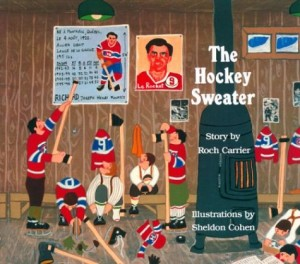The best books on Ice Hockey - The Hockey Sweater by Roch Carrier