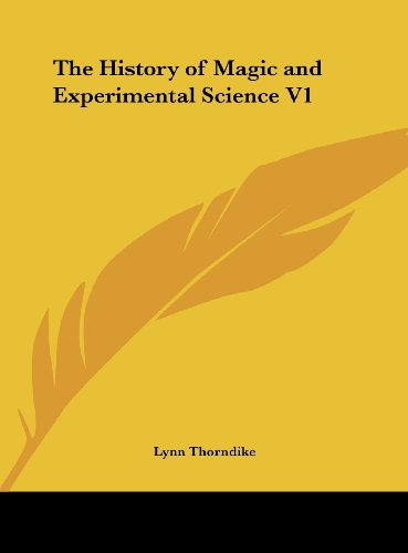 The best books on Magic - The History of Magic and Experimental Science by Lynn Thorndike