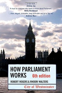 The best books on The Spirit of Sport - How Parliament Works by Robert Rodgers and Rhodri Walters