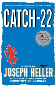 The best books on Americans Abroad - Catch 22 by Joseph Heller