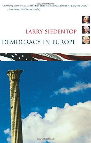 The best books on A New Capitalism: Democracy in Europe by Larry Siedentop
