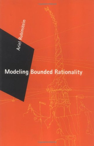 The best books on Game Theory - Modeling Bounded Rationality by Ariel Rubinstein