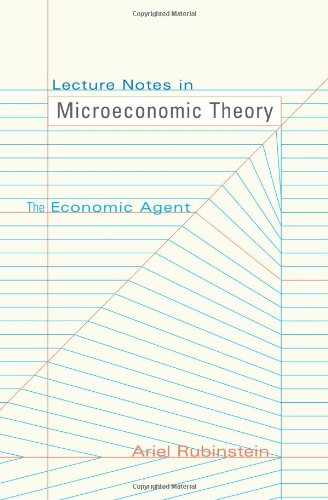 The best books on Game Theory - Lecture Notes in Microeconomic Theory by Ariel Rubinstein