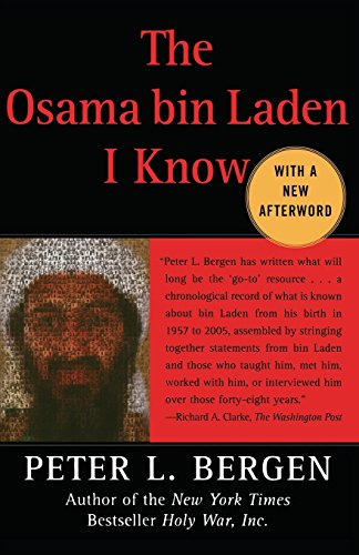 The best books on Osama bin Laden - The Osama bin Laden I know by Peter Bergen & Peter L Bergen