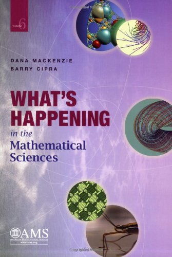 The best books on The Beauty and Fun of Mathematics - What's Happening in the Mathematical Sciences by Dana Mackenzie & Dana Mackenzie and Barry Cipra