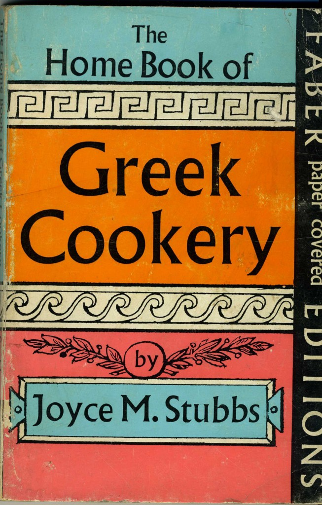 The best books on Greek Cooking - The Home Book of Greek Cookery by Joyce M Stubbs