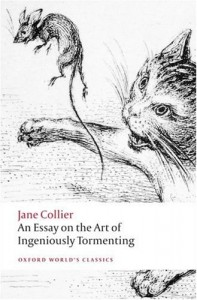 The best books on The History of Women Readers - An Essay on the Art of Ingeniously Tormenting by Jane Collier