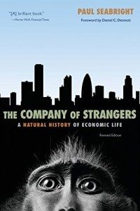The best books on Evolution and Human Cooperation - The Company of Strangers by Paul Seabright
