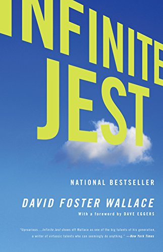 Best Philosophical Novels - Infinite Jest by David Foster Wallace