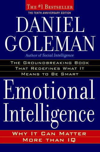 The best books on Emotional Intelligence - Emotional Intelligence by Daniel Goleman