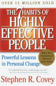 The best books on Overcoming Insecurities - The 7 Habits of Highly Effective People by Stephen Covey