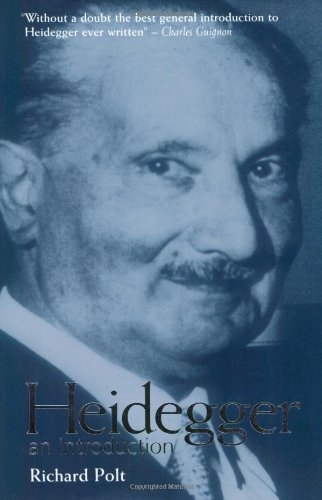 The best books on Existentialism - Heidegger: An Introduction by Richard Polt