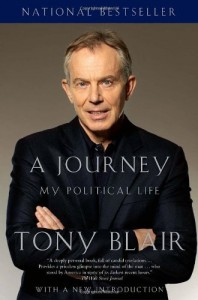 The best books on The World Since 1978 - A Journey: My Political Life by Tony Blair