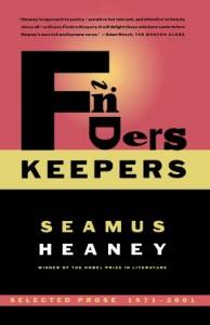 Finders Keepers by Seamus Heaney