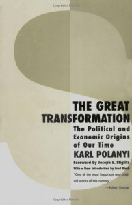 The best books on How the World's Political Economy Works - The Great Transformation by Karl Polanyi