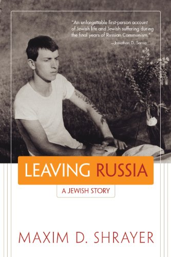 The best books on Vladimir Nabokov - Leaving Russia: A Jewish Story by Maxim D Shrayer