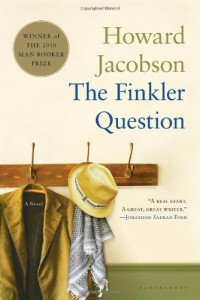 The best books on Jewish Humour - The Finkler Question by Howard Jacobson