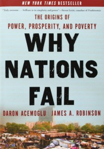 The best books on Emerging Markets - Why Nations Fail by Daron Acemoglu and James Robinson