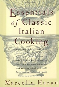 The best books on Italian Food - The Essentials of Classic Italian Cooking by Marcella Hazan