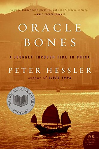 Peter Hessler recommends the best of Narrative Nonfiction - Oracle Bones by Peter Hessler