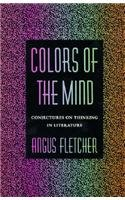 Harold Bloom recommends the best of Literary Criticism - Colors of the Mind by Angus Fletcher