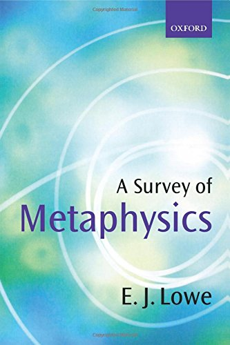 The best books on Metaphysics - A Survey of Metaphysics by Jonathan Lowe