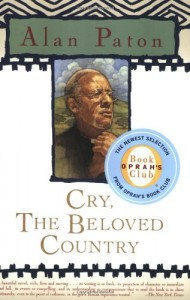 The best books on How Progressives Can Make a Difference - Cry, The Beloved Country by Alan Paton