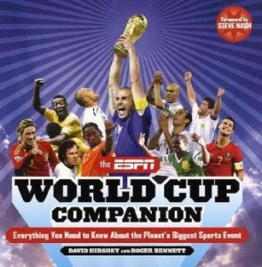The best books on Football - The ESPN World Cup Companion by David Hirshey and Roger Bennett