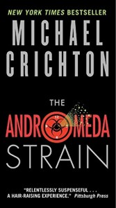Tess Gerritsen recommends her Favourite Thrillers - The Andromeda Strain by Michael Crichton