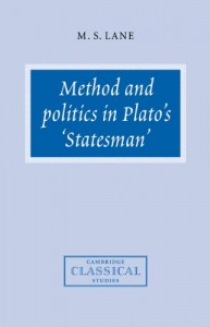 The best books on Plato - Method and Politics in Plato's Statesman by Melissa Lane