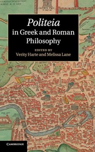 The best books on Plato - Politeia in Greek and Roman Philosophy by Melissa Lane & Verity Harte, Melissa Lane (eds)